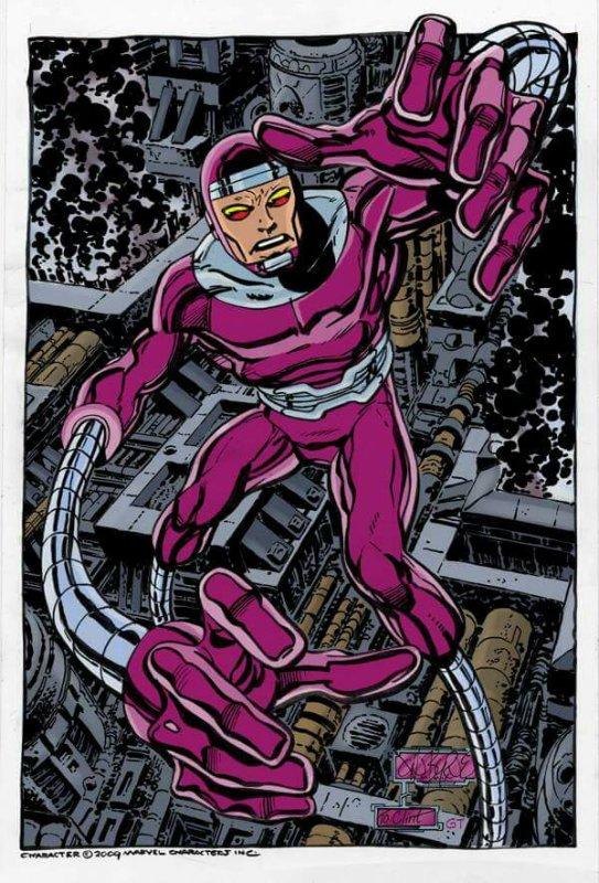 Machine Man (2009), dessiné par: John Byrne