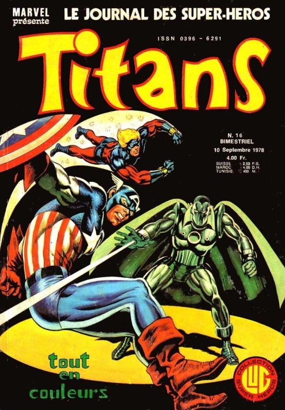 Titans 16 (1978), cover par: Jean Frisano