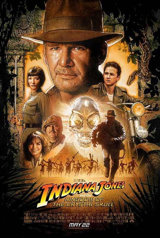 Indiana Jones and the Kingdom of the  Crystal Skull (2008) aka Indiana Jones et le Royaume du Crane de Cristal