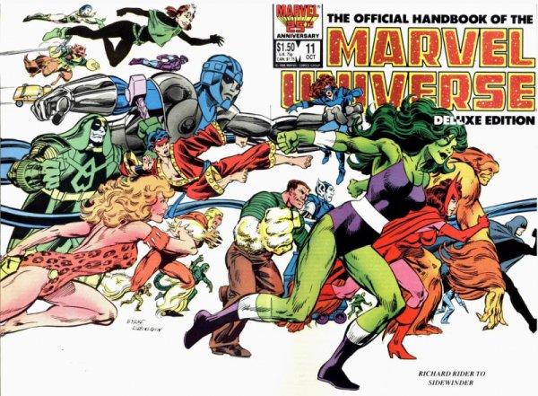 Marvel Universe (1986-1987), dessins par: John Byrne