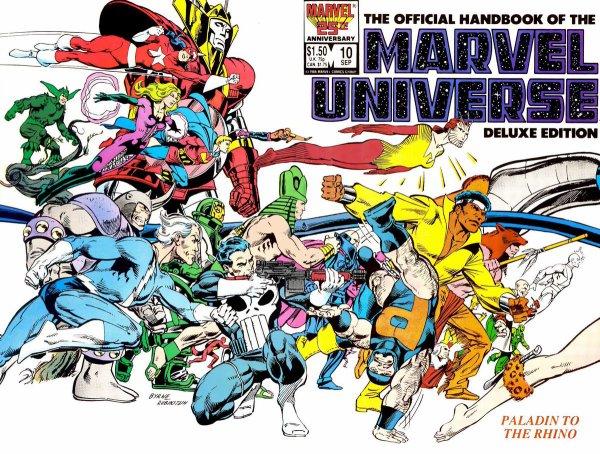 Marvel Universe (1987-1989), dessin par: John Byrne