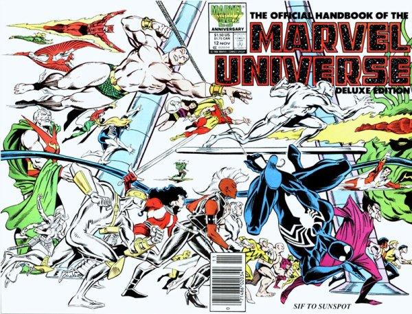 Marvel Universe (1989), cover par: John Byrne