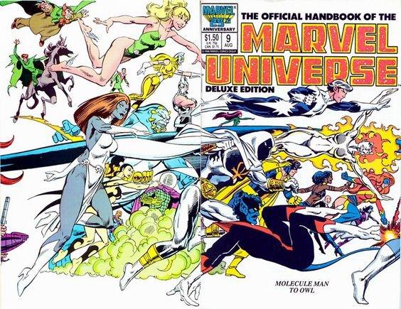 Marvel Universe (1987 à 1989), cover de: John Byrne