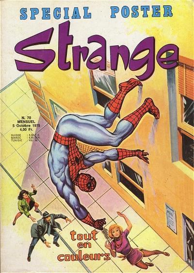 Strange 70 (1975), cover par: Jean Frisano