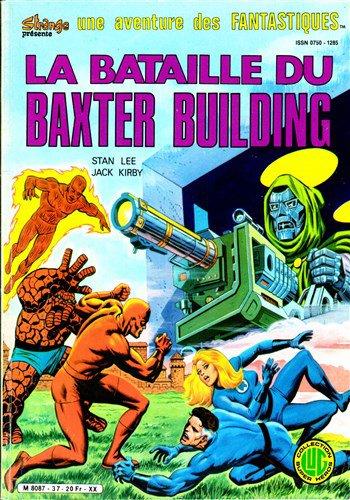 La Bataille du Baxter Building (1985), cover par: Jean Frisano