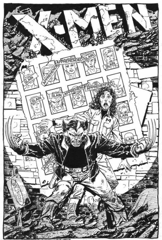 The Uncanny X-men 141 (1980), dessins par: John Byrne