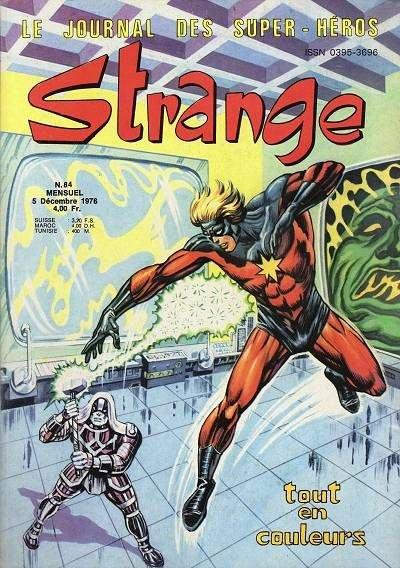 Strange 84 (1976), cover par: Jean Frisano