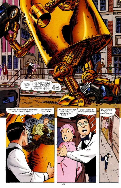 Generations (1999), scénario et dessins par: John Byrne