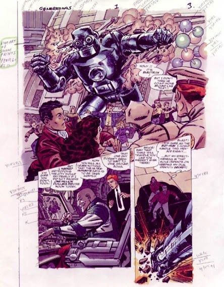 Generations (1999), scénario et dessins: John Byrne