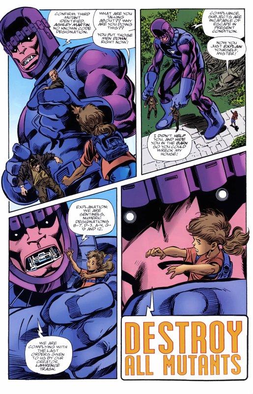 X-Men: The Hidden Years 10 (2000), scénario et dessins: John Byrne et Tom Palmer