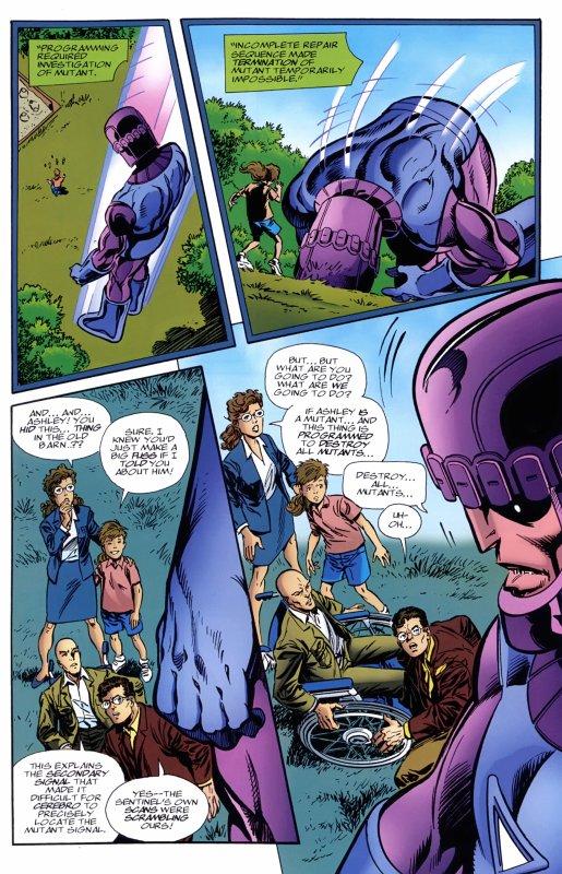 X-Men: The Hidden Years 11 (2000), scénario et dessins par: John Byrne et Tom Palmer