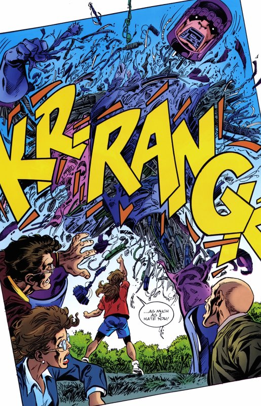 X-Men: The Hidden Years 12-13 (2000), scénario et dessins: John Byrne et Tom Palmer