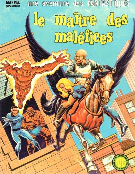 Le Maître des Maléfices (1980), cover par: Jean Frisano
