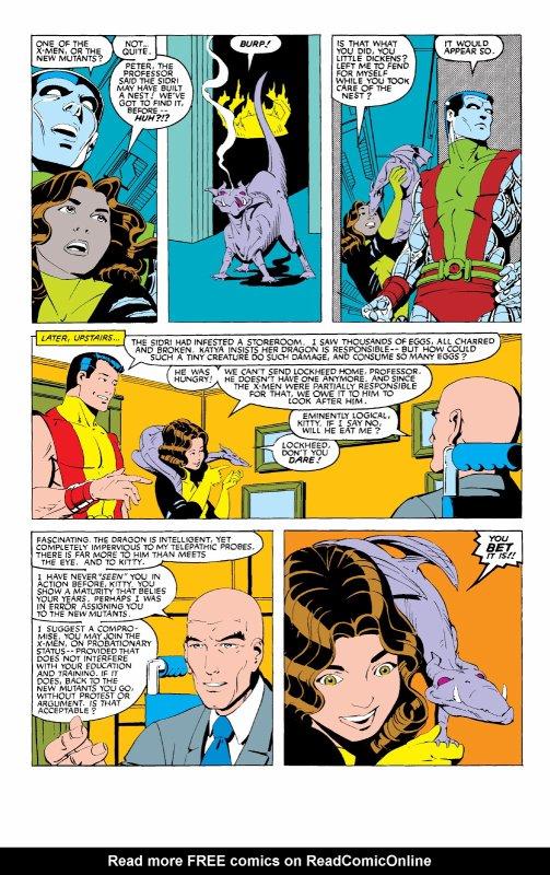 The Uncanny X-Men 168, partie 20 (1983), dessins: Paul Smith, scénario: Chris Claremont.