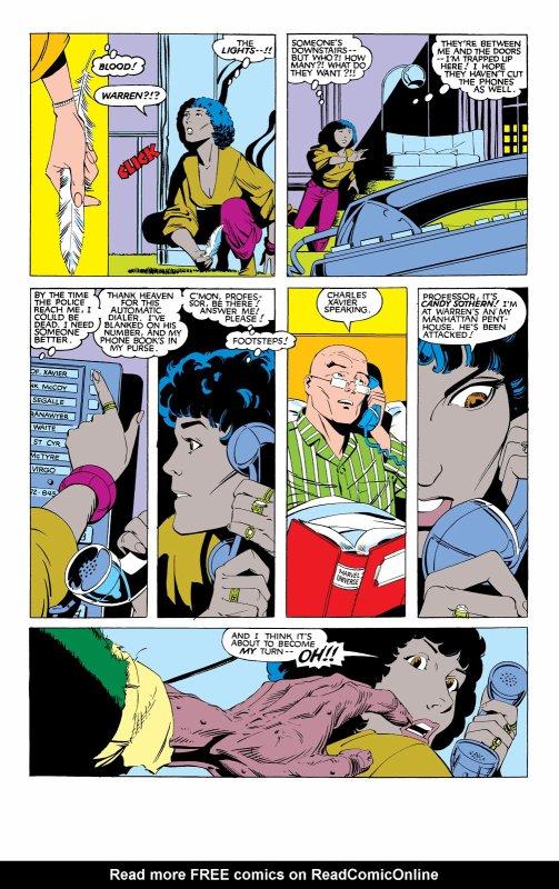 The Uncanny X-Men 169, partie 2 (1983), dessins: Paul Smith, scénario: Chris Claremont.