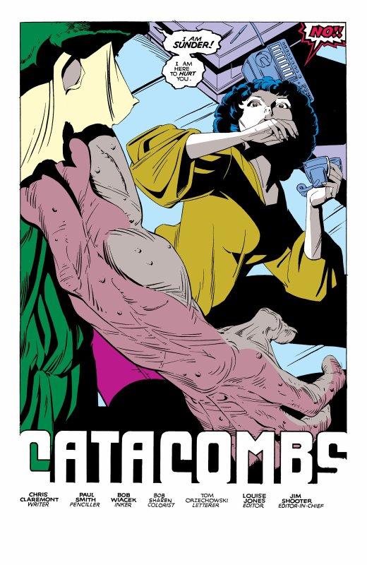 The Uncanny X-Men 169, partie 3 (1983), dessins: Paul Smith, scénario: Chris Claremont.