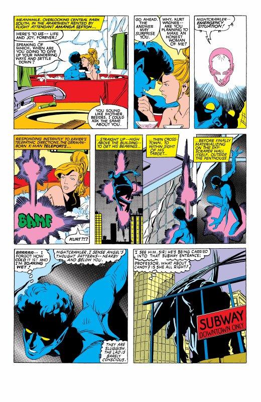 The Uncanny X-Men 169, partie 4 (1983), dessins: Paul Smith, scénario: Chris Claremont.