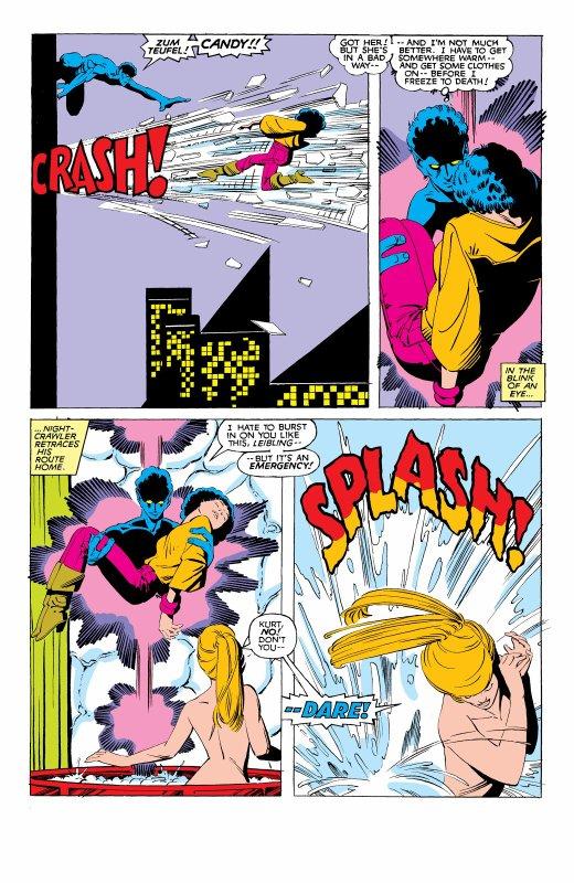 The Uncanny X-Men 169, partie 5 (1983), dessins: Paul Smith, scénario: Chris Claremont.