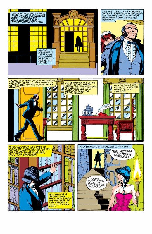 The Uncanny X-Men 169, partie 6 (1983), dessins: Paul Smith, scénario: Chris Claremont.