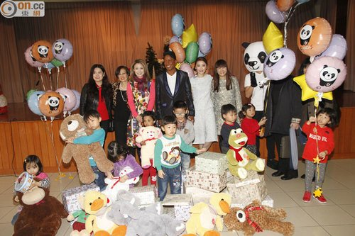 #News Jermaine à un gala de charité à Hong Kong
