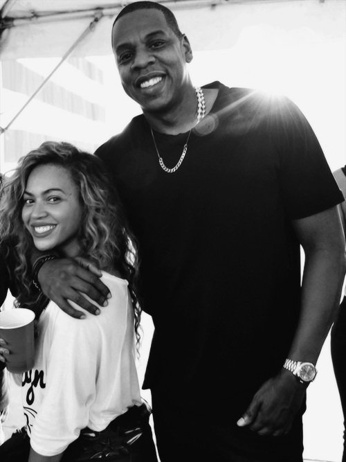 Queen B & Jay Z .