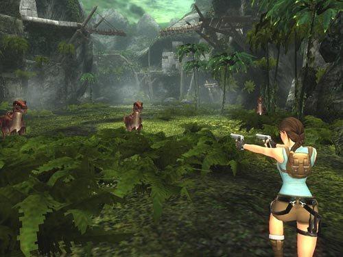 jeux tomb raider 1 (sur playstation 1)