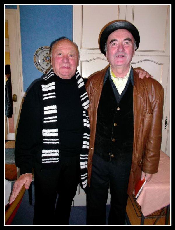 Avec Gérard PIERRON