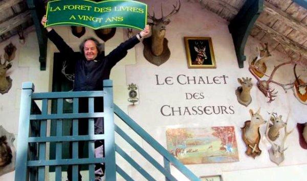 La 22 eme édition de la Forêt de Livres Le WOODSTOCK de la Littérature se ferat sans Gonzagues Saint Bris