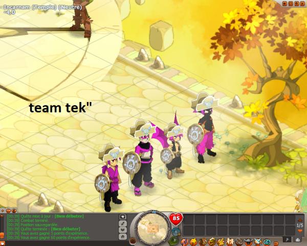 team créer maintenant progressé