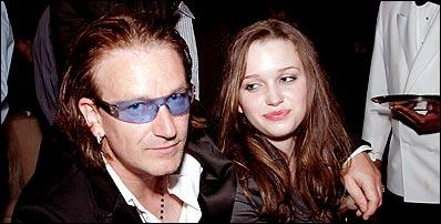 bono sa fille ainee jordan n e le 10 mai 1989 a harbour in the tempest. Black Bedroom Furniture Sets. Home Design Ideas