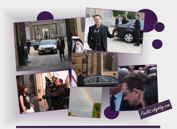 Le jour ou j'ai vue Bono à L'Elysée // 17 Septembre 2010