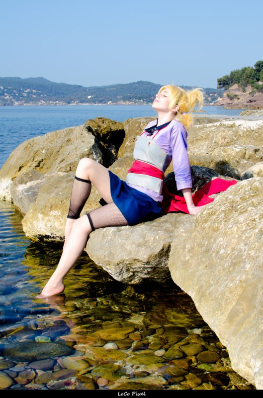 Temari 2nd costume (cosplay) :