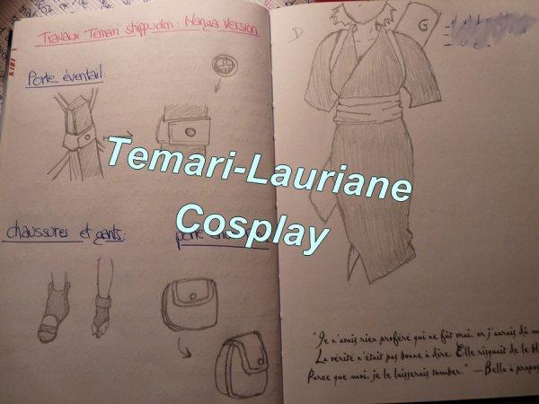 Temari 3ème costume (cosplay) :