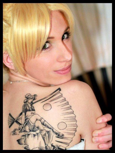 Quelques nouveautés: Tatouages Naruto & Cosplay Ino