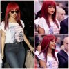 Rihanna au match de basket entre les Los Angeles Clippers et les Miami Heat au Staples Center