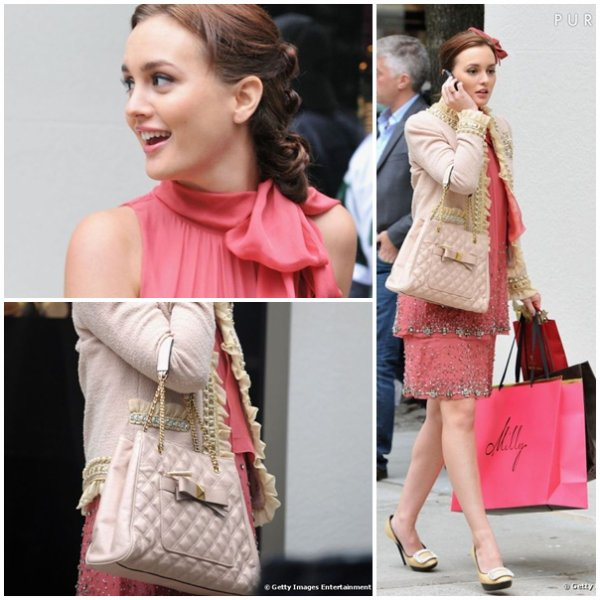 Leighton Meester as Blair Waldorf dans la saison 5 de Gossip Girl (enfin un nouvel article hihi^^ )