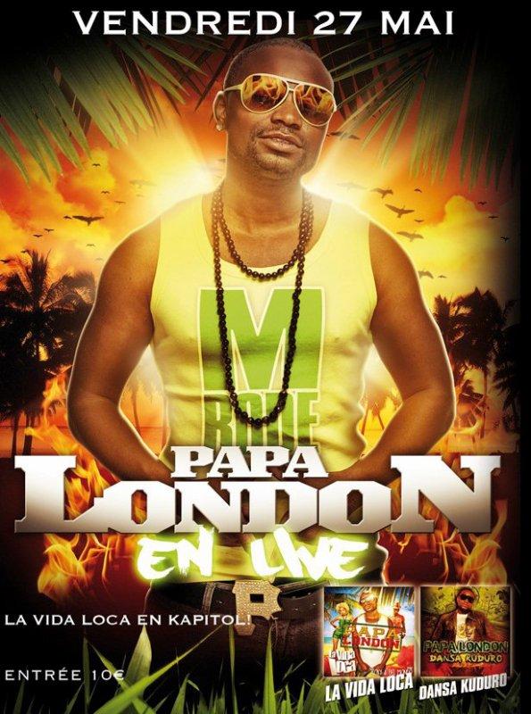 Papa London en concert au Kapitol le 25 mai 2011