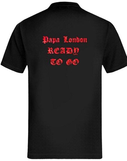 Tee Shirts Papa London Ready To GO
