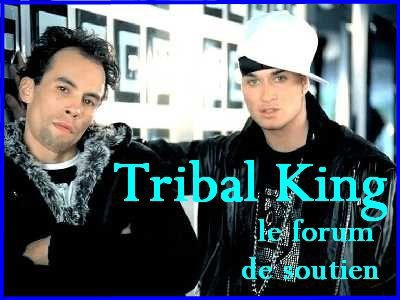 Faux Face Book Tribal King et Nony
