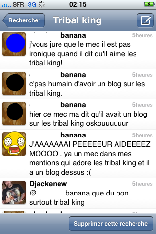 Les Tribal King on en parle sur Twitter (tous les jours!!)