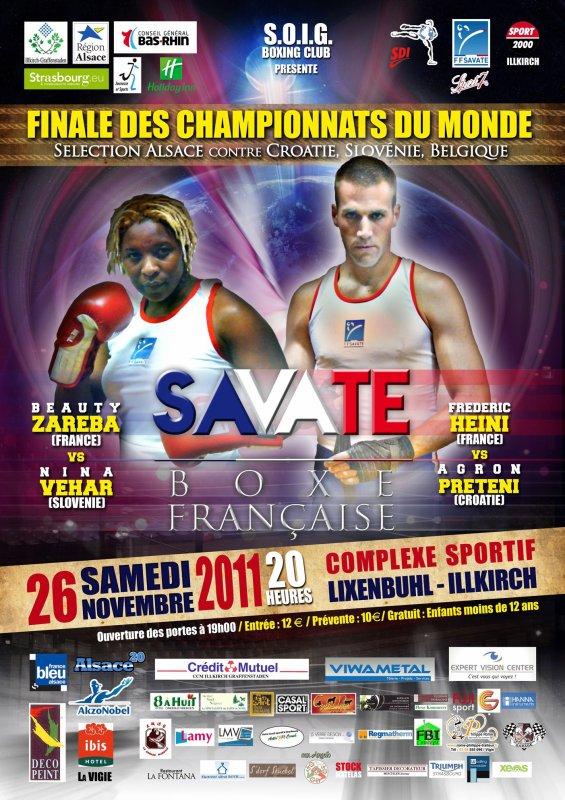 Championnats du Monde de  Boxe
