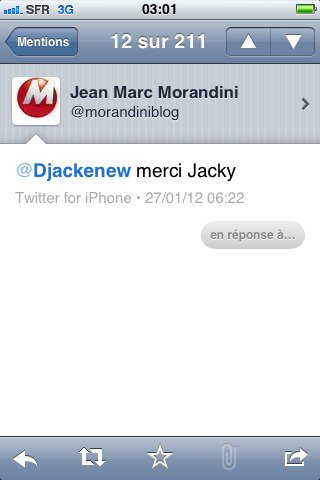 Jean Marc Morandini et Djackenew