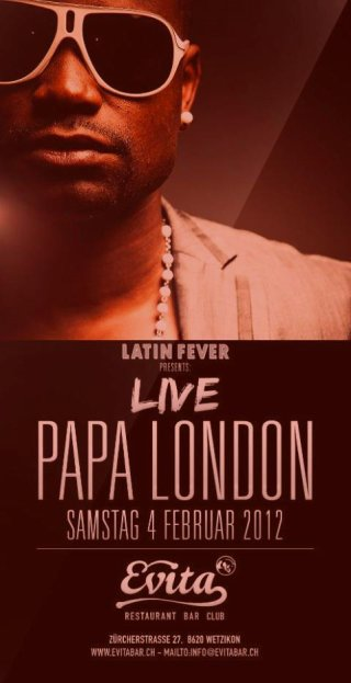 PAPA LONDON LIVE SHOW