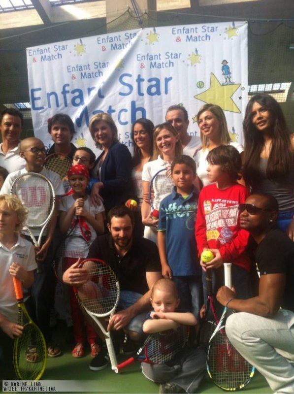 Tournoi de Tennis Association Enfant Star et Match