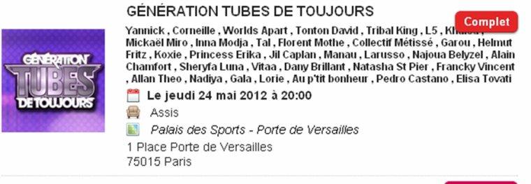 GENERATION TUBES DE TOUJOURS AVEC TRIBAL KING 20 MAI 2012