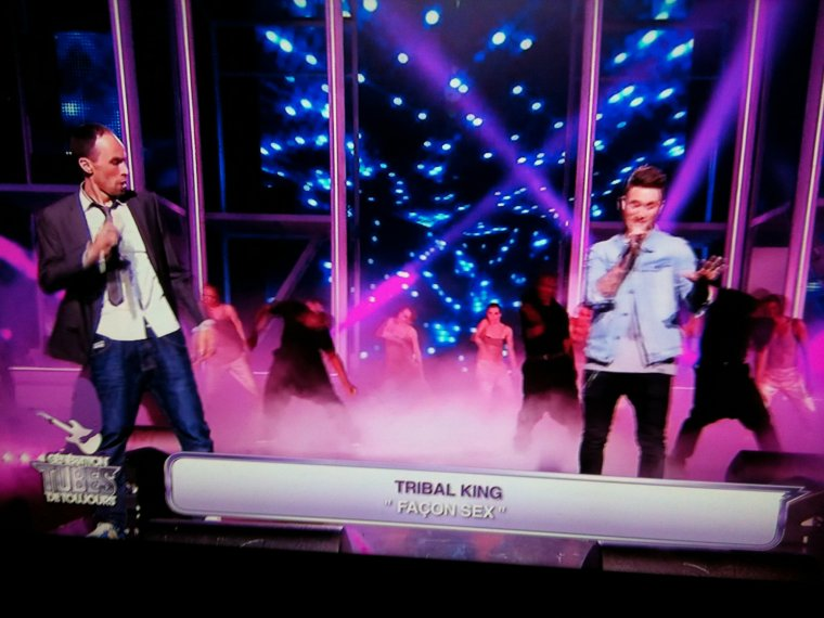 Les Tribal King dans génération tubes sur TF1 7 juillet 2012