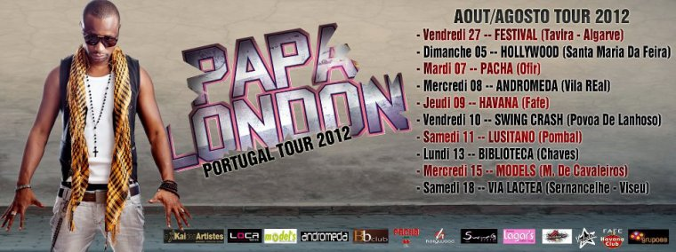 Papa London Portugal Summer Tour