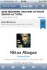 Nikos Aliagas suit Djackenew sur Twitter