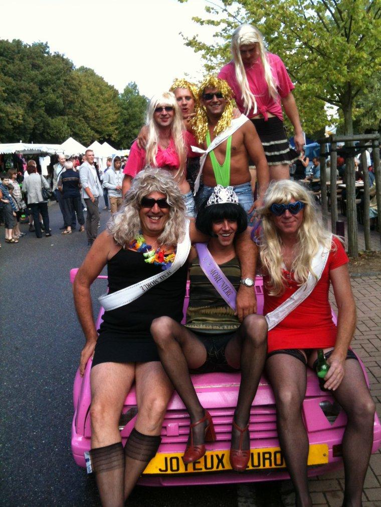 Djackenew et les Drag queens