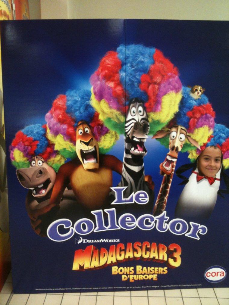 Maxime et Madagascar 3